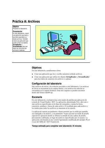 Práctica A: Archivos - Willy .Net