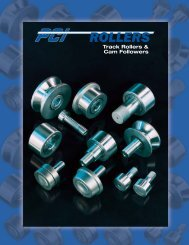 PCI Track Rollers & CAM Followers - Houston Bearing and Supply