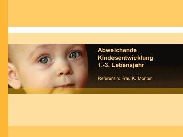 Kindesentwicklung 1.-3. Lebensjahr - Kinderzentrum Mecklenburg
