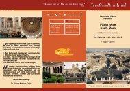 Pilgerreise nach Rom - Tobit-Reisen