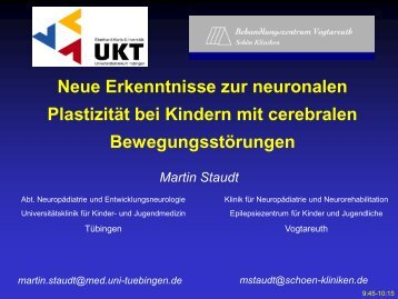 Staudt et al, Brain 2002; Ann Neurol 2004 - Kinderzentrum ...