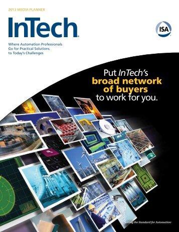 InTech 2013 Media Planner - Automation.com