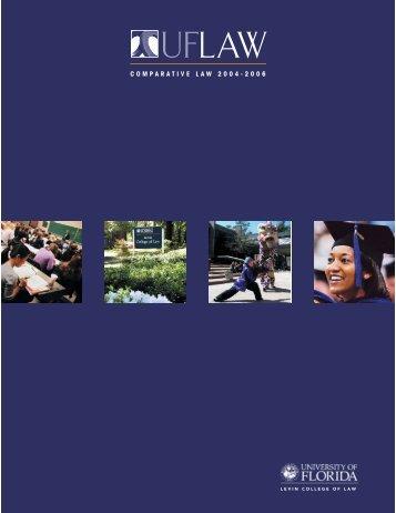 L.L.M. in Comparative Law Program - Levin College of Law ...