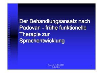 Der Behandlungsansatz nach Padovan - Kinderzentrum Mecklenburg