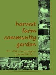 harvest farm community garden - Suwanee, Georgia