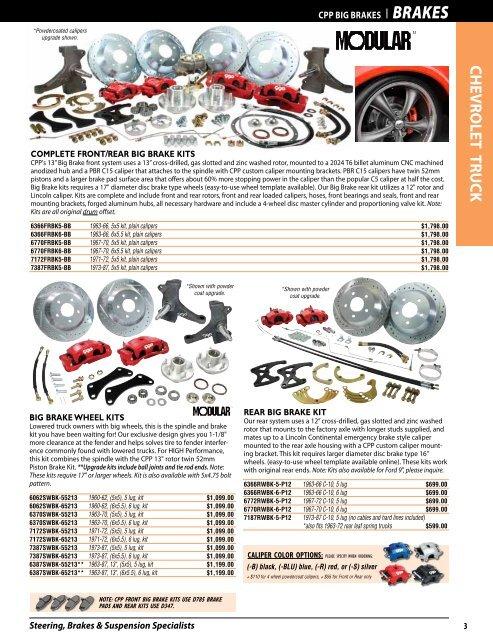 1973-80 Chevrolet GMC Long bed C10 C15 Complete Power Brake Line Set Kit SS