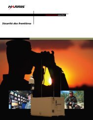 Border Security Brochure - French - Harris RF Communications ...
