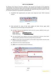 E-Mail ile Fax Gönderimi - İzmir Ekonomi Üniversitesi