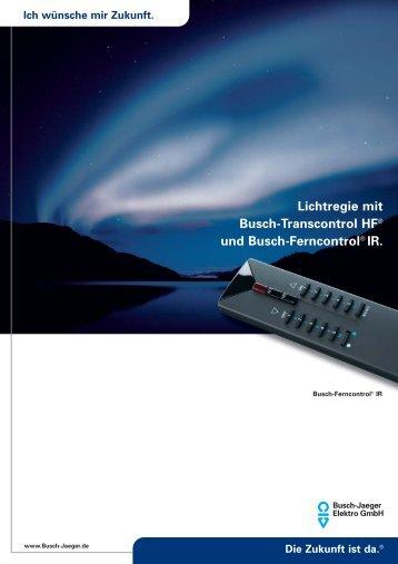 Lichtregie mit Busch-Transcontrol HF® und Busch-Ferncontrol® IR.