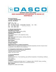 to download the MSDS on EZY as a pdf. - Daviesway