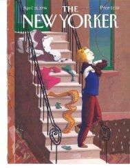New Yorker - Rose Tarlow Melrose House