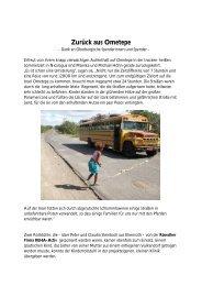Zurück aus Ometepe mit Bildern - Ometepe-Projekt Nicaragua