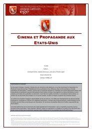 Cinéma et Propagande aux Etats Unis - Base de connaissance AEGE