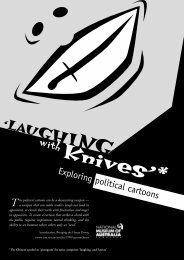 Laughing with knives - exploring political cartoons - National ...