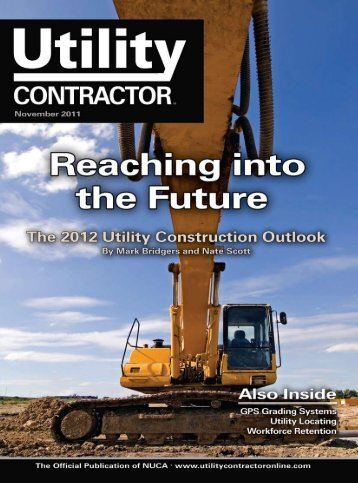 View Full November PDF Issue - Utility Contractor Magazine