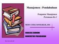 Manajemen : Pendahuluan - Blogs Unpad - Universitas Padjadjaran
