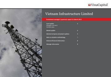 VNI Q1 2013 report - VinaCapital