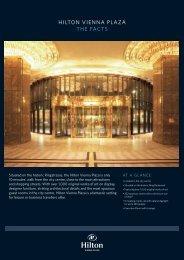 HILTON VIENNA PLAZA THE FACTS - hotels Vienna