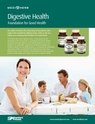 Digestive Health - Foundation for Good Health ... - Standard Process