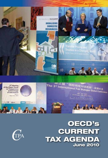 OECD's CURRENT TAX AGENDA - U.S. Council for International ...