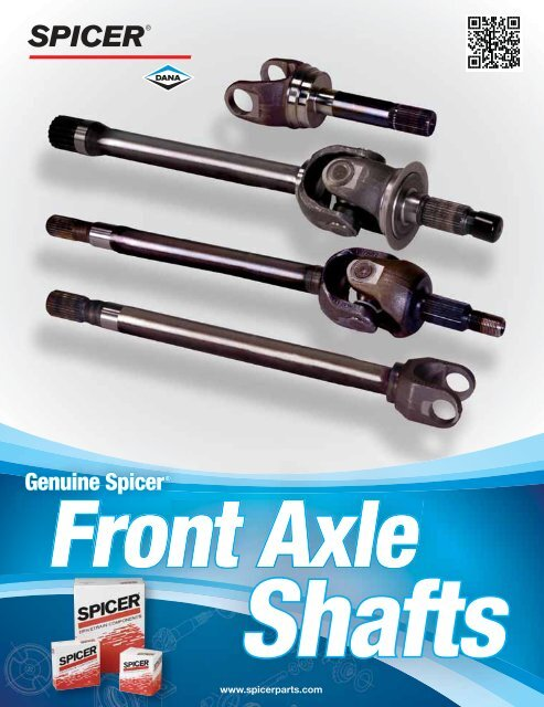 Spicer 41677 Front Axle Shaft