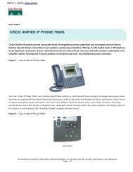 CISCO UNIFIED IP PHONE 7960G
