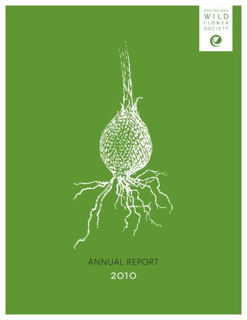 ANNUAL REPORT - New England Wild Flower Society