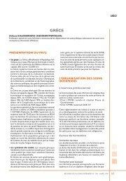 grèce - Banque de données en santé publique