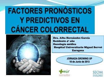 Factores pronósticos y predictivos en cáncer de colon