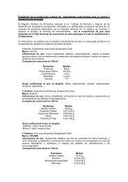 Evaluación de la producción cubana de suplementos nutricionales ...