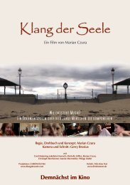 Klang der Seele - Film Kino Text