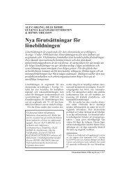 Nya förutsättningar för lönebildningen - Nationalekonomiska ...
