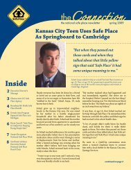Spring Issue, 2009 - National Safe Place