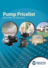 Pump Pricelist - Zenit