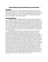 Enhanced Efficiency Phosphorus Application for a Corn-Soybean
