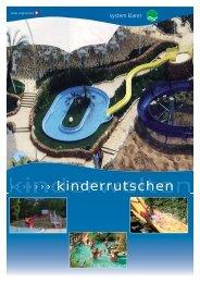 Kinderwasserrutsche - Klarer Freizeitanlagen AG