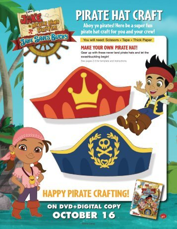 Pirate hat craft - Family Friendly Gaming