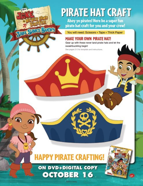 Make a Pirate Hat | Pirate hats for kids, Pirate hats, Pirate hat ... | 640x495