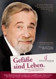 Broschüre ein - Gefässforum Österreich