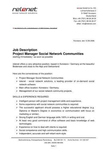 overview. job brief. job description for a school grounds ...