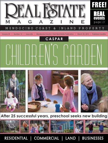 Children's garden - Real Estate Magazine