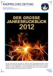 Knüppelches Zeitung 4-2012 - Spielmannszug 1902 Rheinbach