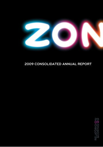 Management Report, Balance sheet and accounts for the year ... - Zon