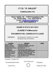 5AM (meccanica) - ITIS G. Galilei