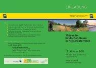 Wissen im ländlichen Raum in Niederösterreich