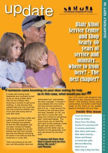 September 2008 Update - Lutheran Community Care
