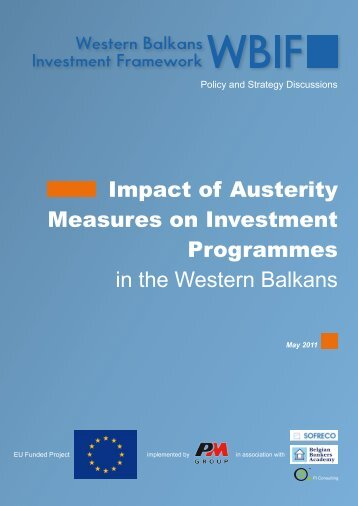 Impact of Austerity Measures on Investment Programmes in the ...