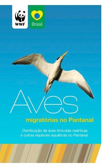 Aves migratórias do Pantanal