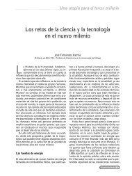 Los retos de la ciencia y la tecnología en el nuevo milenio