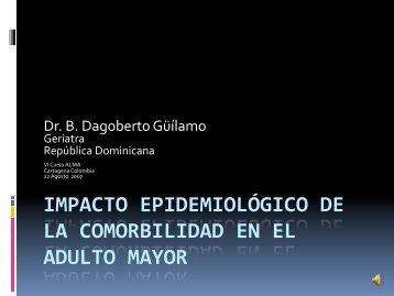 impacto epidemiológico de la comorbilidad en el adulto mayor